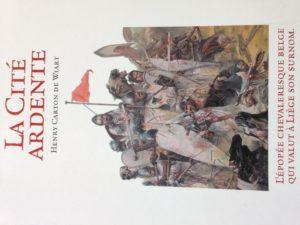 """""""DIE FEURIGEN STADT"""" ist der Titel eines Buches von Henry Carton de Wiart"""