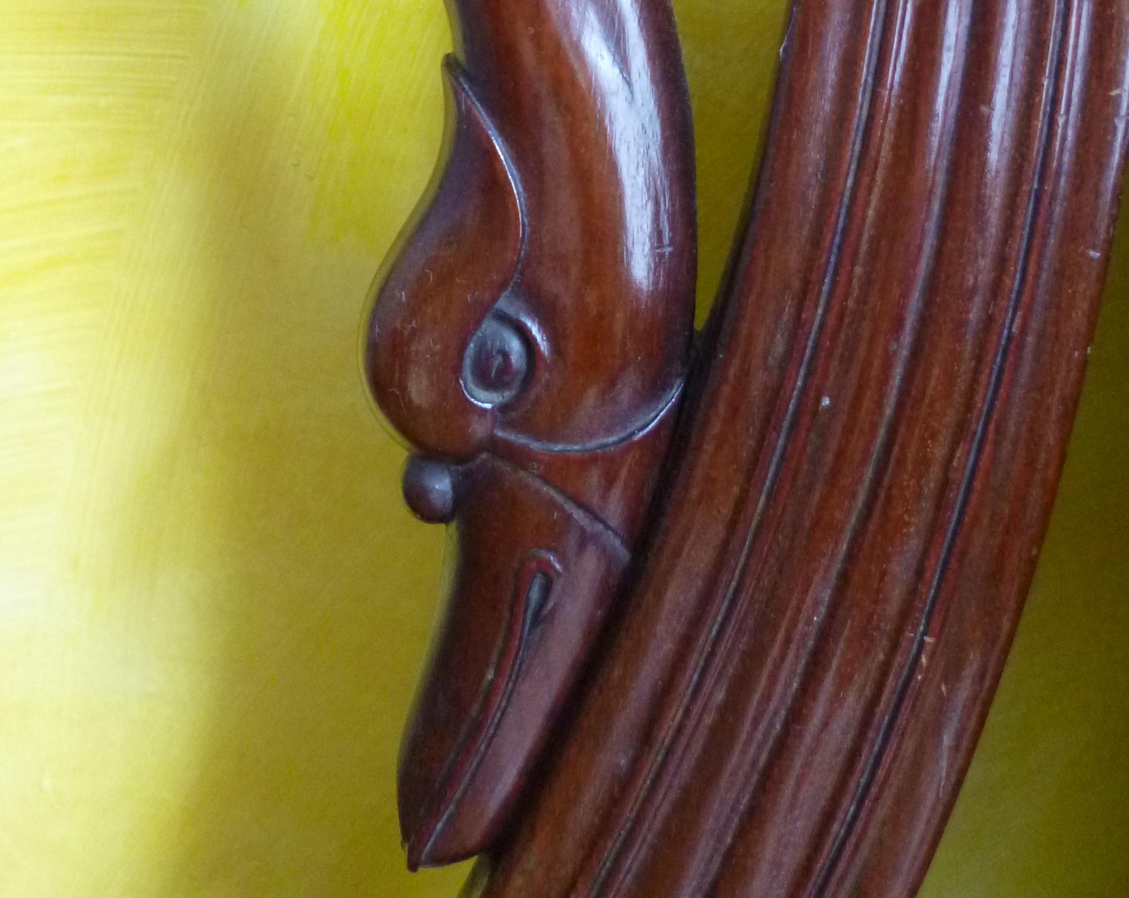 Mahogany swan