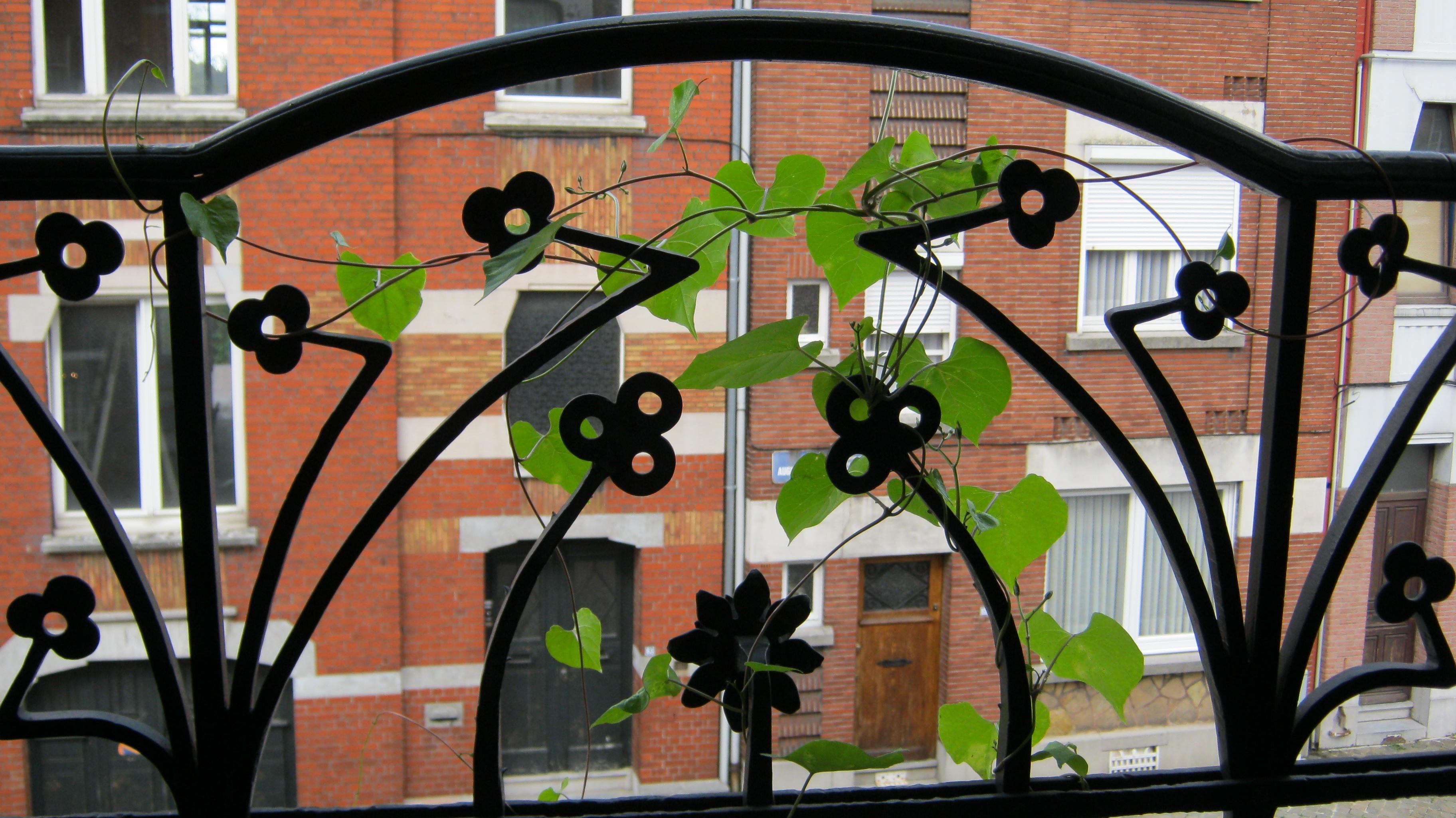 Art-Nouveau Balkon