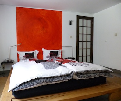 The Zen bedroom/la chambre Zen