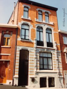 Façace 74 rue Donnay en 2000