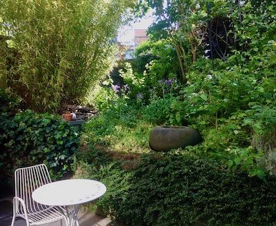 Jardin des gîtes Matin tranquille