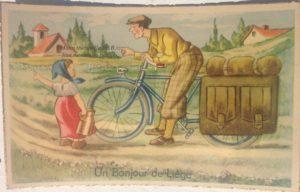 ancienne carte postale de Liège